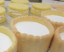 ビスキュイのデコレーションケーキ